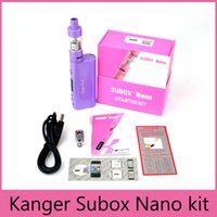 High Quality Kanger SuBox Nano Starter Kits 4Colors with KBo...