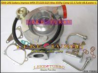 Großhandels Neue TD05 20G 8 TD05-20G TD05-20G-8 Turbo Turbolader Für SUBARU Impreza WRX STI EJ20 EJ25 MAX 450HP mit Dichtungen + Rohrverschraubung