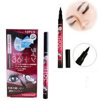 Liquid Eyeliner Schwarz Wasserdicht Pen Liquid Eyeliner Eye Liner Bleistift Make Up Eyeliner Schönheit Comestics Großhandel 0049-120MU