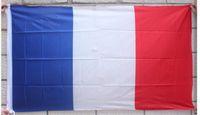 배너 깃발 90 * 150cm 프랑스 국기 국가 polyster 세계 컵을위한 프랑스 국기