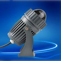 Haz estrecho Led lámpara de arandela de pared 10W RGB reflector iluminación de paisaje al aire libre AC85-265V focos a prueba de agua Linear Light