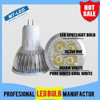 Lampada a LED CREE ad alta potenza a basso prezzo dimmerabile MR16 / GU5.3 12W 12V 110-240V Faretto a LED Spotlight Faretto a LED lampadina downlight illuminazione aaaa