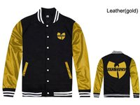 Fall- Wu tang Jackets hip hop new style casual sport Men&#039...