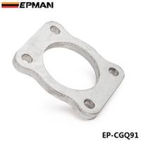 EPMAN Turbine Bride Collecteur Entrée / Échappement Pour Mitsubishi 4G63T EVO1 ~ 3 VR4 DSM en stock EP-CGQ91