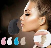 S530 Mini Sports Trendy Auriculares invisibles Inalámbricos Bluetooth 4.0 Auriculares estéreo Manos libres Manos libres Estilo fresco para todos los teléfonos con caja