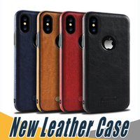 New Business Leather Case Soft TPU Shell Full Protection Cas...