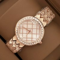 2017 Fashion Women Wristwatch High- grade With diamond Rose G...