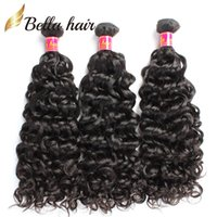 Brazilian Water Wave Curly Hair Weaves 100% Virgin Remy Huma...
