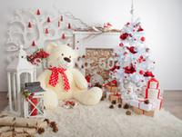 5x7ft Winylowe tło fotografii tło Boże Narodzenie tło D-3356