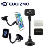 EUGIZMO Universal Car Kit Windshield Dash Magnetic Mobile Mount mobile phone holder for Apple iPhone Samsung all smartphones