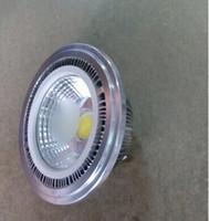 20PCS COB LED AR111 QR111 ES111 Spot LED ampoule lampe LED 15W G53 AR111 COB Lamparas rapide Livraison gratuite FEDEX