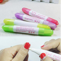 Nail Art Gel Nail Polish Remover Pen Manicure Cleaner Nail P...