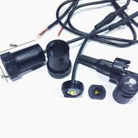 혼다 용 케이스 VW 용 시보레 케이스 용 자동차 로고 LED 인테리어 조명 환영 문 고스트 섀도우 램프 12V