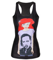New Summer Tank Tops 3D cartoon women print t shirt women Sp...