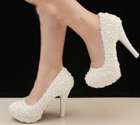 O Envio gratuito de Casamento Branco de Salto Alto Noivas Vestido de Noite Partido Prom Sapatos de Dama De Honra Sapatos Lindos Formal Vestido Sapatos