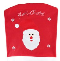 60 * 50 cm tampa da cadeira de Natal do Natal boneco de neve dos desenhos animados cadeira conjunto de pura decoração de mesa artesanal