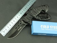 Cold steel - 230 aluminum shank folding knife 7Cr17Mvo steel...