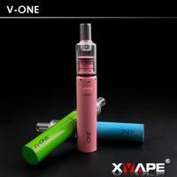 Yeni Güncelleme Sürümü XVAPE V-bir Cam Wax Buharlaştırıcı seramik çörek vape kalem