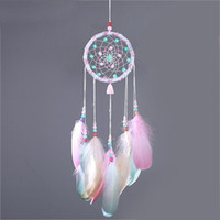 Colorful Dream catcher Feathers Handmade Dreamcatchers Wind ...