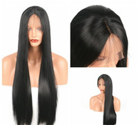 Z&F Black Lace Front Wig 14 16 18 20 22 24 26 inch Synthetic...