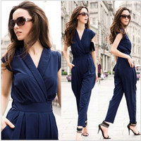 New Jumpsuit women' s overall sexy fashion waist jumpsui...