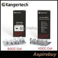 Yükseltilmiş 100% Orijinal Kanger SOCC / VOCC Bobin occ (Organik Pamuk Bobin) Subtank için EVOD Mega, Aerotank, Aerotank Mini, Aerotank Mega