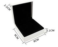 8 pc / lot 벨벳 블랙 팔찌 상자 판도라 보석에 적합 유럽 스타일 쥬얼리 선물 디스플레이 케이스 9 * 9 * 4 cm 도매 DIY 쥬얼리 박스