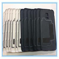 Yüksek Kalite Yeni Yeni S5 mini Pil Arka Kapak Konut Samsung Galaxy S5 mini G800 G800F Pil Kapı Case Arka