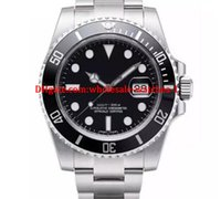 Christmas gift Luxury WATCHES Black Ceramic Bezel Dial 11661...