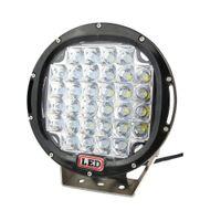 9INCH 96W LED ضوء العمل جرار شاحنة 12V 24V IP68 SPOT الطرق الوعرة الصمام ضوء محرك LED Worklight ضوء خارجي seckill 111W 160W 185W