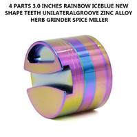 New Rainbow Grinder Groove Grinders Big Grinders 75mm 2. 95 I...