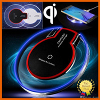 Qi Wireless Charger Pad Power Fast Charging for Samsung Gala...