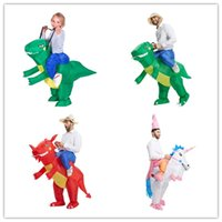 size Inflatable Dinosaur Fancy Dress adult Kids halloween Co...