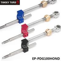 Tansky - регулируемая высота двойной изгиб короткого переключения M10 * 1.5 для Integra CRX B16 B18 B20 D16 Комплект короткого переключения EP-PDG100Hond