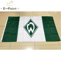 Tedesco SV Werder Bremen 3 * 5ft (90cm * 150cm) Bandiera in poliestere Banner decorazione casa volanti giardino bandiera Regali festivi