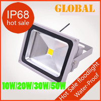 Projecteur LED extérieur 10W 20W 30W 50W 70W 100W 150W 200W étanche IP68 chaud blanc froid paysage COB lumières d'inondation Wall Wash Light