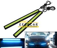 자동차 주차 빛 운전 안개 라이트 램프 17cm DC12V 10w 슈퍼 화이트 유연한 LED 주간 러닝 라이트 DRL 방수