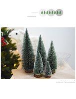 Mini christmas tree, sticky cedar desktop, small Christmas t...