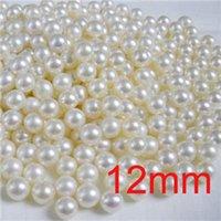 BRICOLAGE 12mm Perles Perles Bracelets Colliers Artisanat Main Faire La Balle Lâche Spacer Charms En Plastique Blanc Rond En Gros Résultats de Bijoux 500pcs