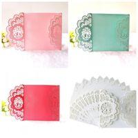 Criativo Oco Out Cartões Multi Cor Estilo Europeu Cartão de Convite de Festa de Casamento Suprimentos 1 5dd C R