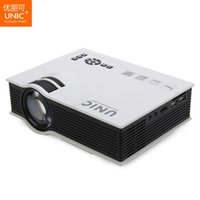 Wholesale- Profession UNIC UC40 UC40+ Projector Mini Portable 3D HDMI Home Theater Beamer Multimedia Projector Full HD 1080P Video Player