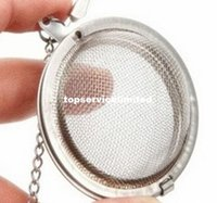 Stainless Steel Tea Pot Infuser Sphere Mesh Strainer Ball 5c...