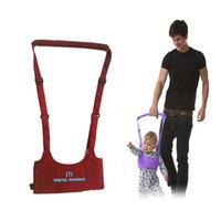 جديد الطفل الآمن الرضع المشي حزام كيد حارس المشي تعلم مساعد طفل تعديل حزام تسخير 5 ألوان 2109020