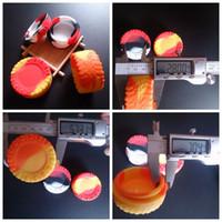 Reifenform einzigartige Reifen Design Silikon Gläser Tupfen Wachs Verdampfer Öl Gummi großen Behälter 23ml große Lebensmittelqualität Silikon trocken Kraut e Cig