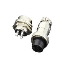 5 Sets / kits 3 PIN 12 milímetros GX12-3 Screw Aviação conector A ficha de aviação conector do cabo plugue regular e soquete