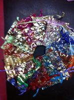 7x9cm 100pcs mezclado al azar Disponibles Organza del regalo de boda BagsPouches