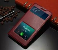 Хорошее Качество Для Xiaomi Hongmi Note 3 Чехол Красочные Откидная Крышка Окна Роскошный Натуральная Кожа Чехол Для Xiaomi Hongmi Redmi Redrice Note 3