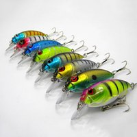 16pcs FISHING LURES CRANKBAITS HOOK BASS 9. 9g