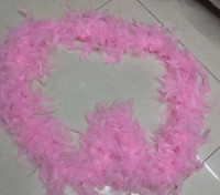 Перо шарфы 1 метр перо газа свадьба Марабу перо Боа