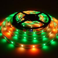 Venta al por mayor 500m 100x5M Nueva Junta WS2812B WS2812 30LEDs / M LED Pixel de Luz de Tira WS2811 IC 5050 RGB SMD PCB Blanco Impermeable DC5V